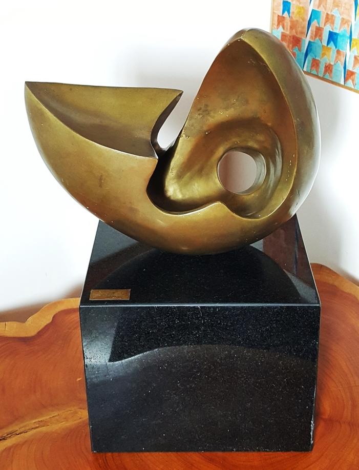 GP-E11004 Bruno Giorgi – Caravela Bronze 61alt 40Larg Galeria Paulista (6)