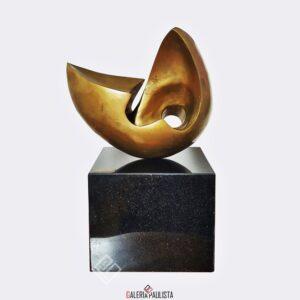 escultura bronze bruno giorgi caravela