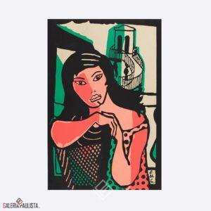 Serigrafia Di Cavancanti Multa Cadeira Galeria Paulista