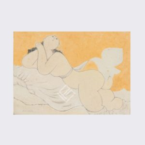quadro Milton Dacosta OST Vênus e Passaro galeria paulista arte