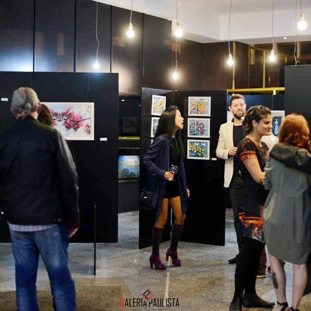 Gio Adriana – Exposição Obras Flores Imaginárias galeria paulista