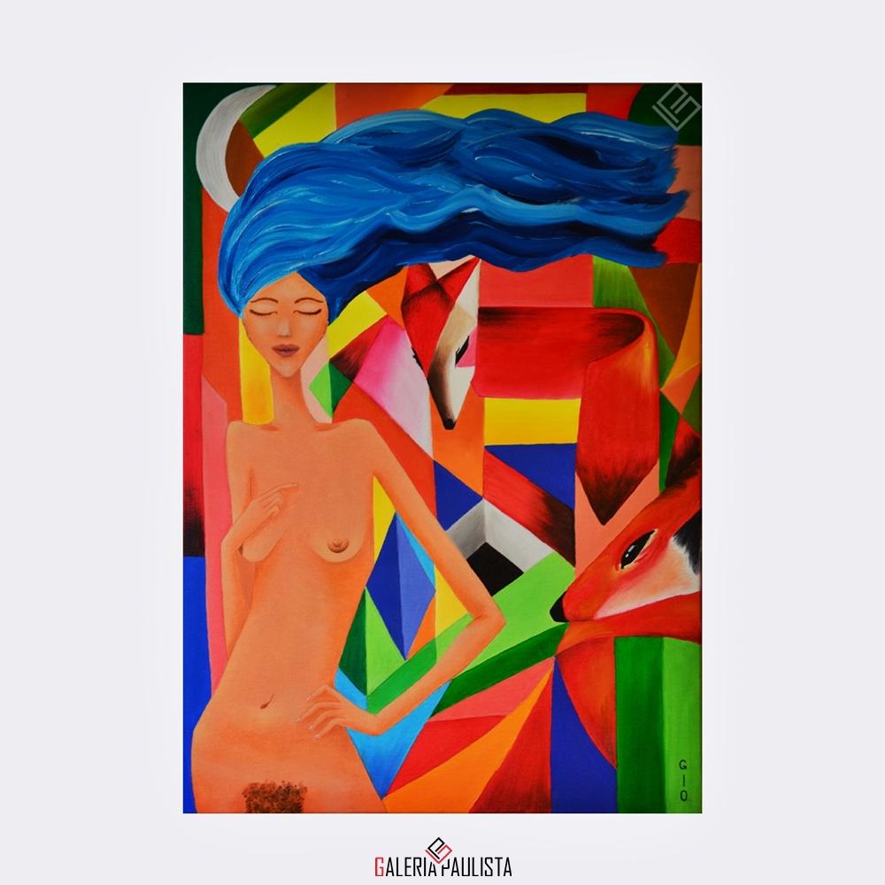 GP-P21014 Gio Adriana OST Coração Selvagem 70×50 galeria paulista 1