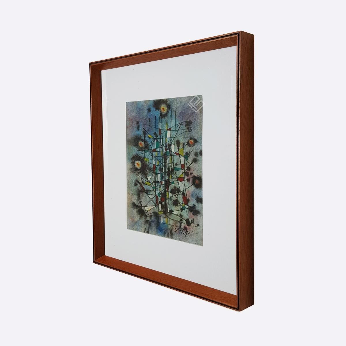GP-P21025 – Bandeira – Téc Mista Abstrato 31,5x23cm site2