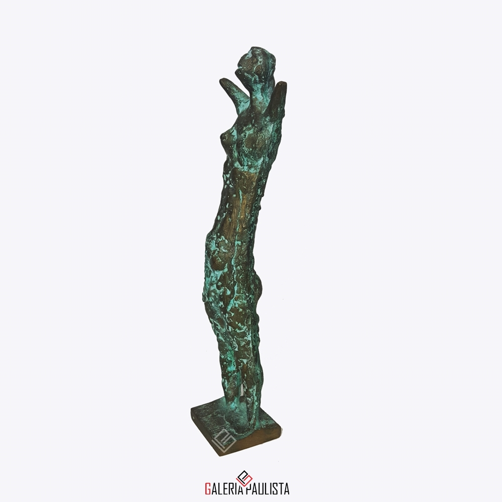 GP-E11005 – Francisco Stockinger – Escultura Bronze Guerreira 30cm (4)