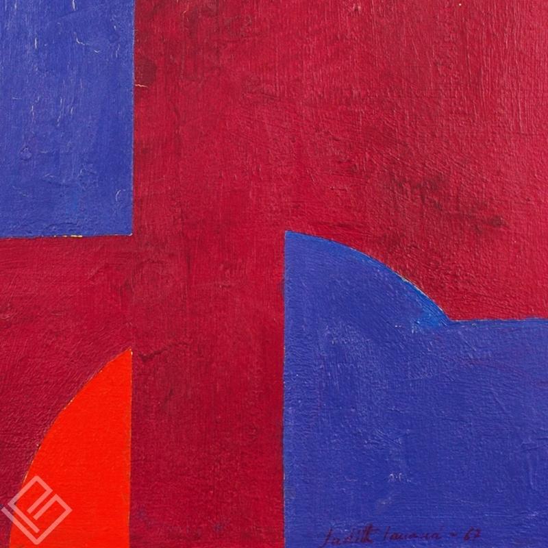 GP-P21017 Judith Lauand-Geométrico III OST 41×33 galeria paulista 2