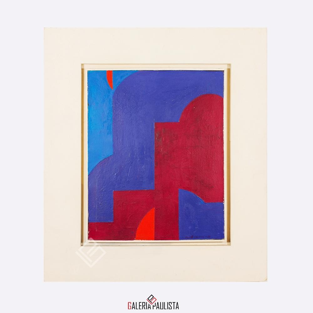 GP-P21017 Judith Lauand-Geométrico III OST 41×33 galeria paulista