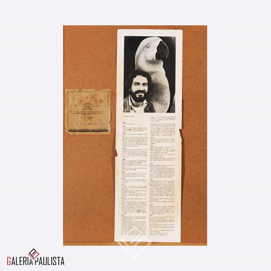 GP-G31007 Claudio Tozzi – Papagalia Serigrafia 70×50 tirag 59 3