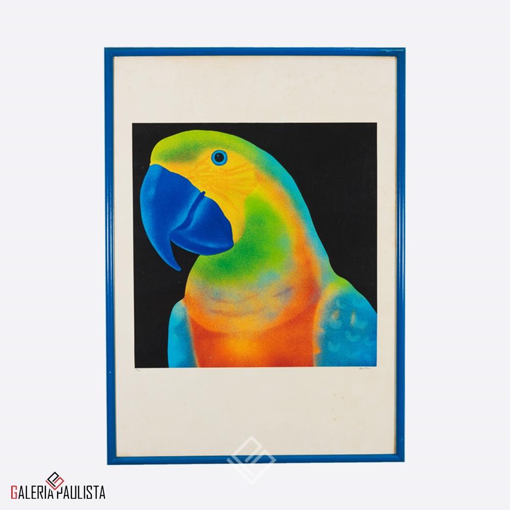 GP-G31007 Claudio Tozzi – Papagalia Serigrafia 70×50 tirag 59