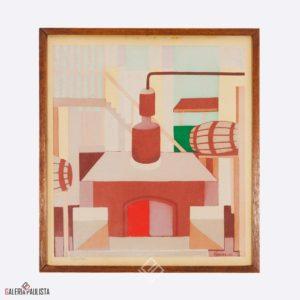 Gravura Djanira Alambique Galeria Paulista