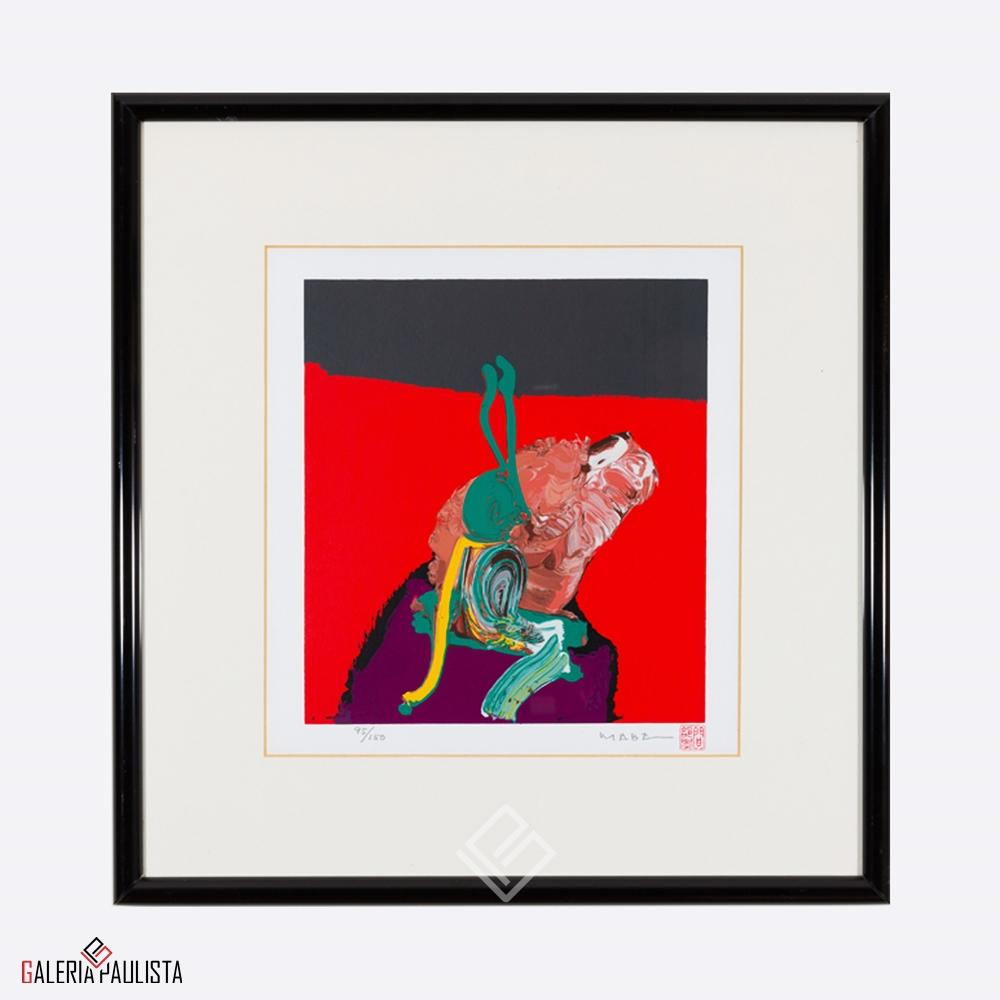 GP-G31020 Mabe – Serigrafia Abstrato 46×43 serie 95