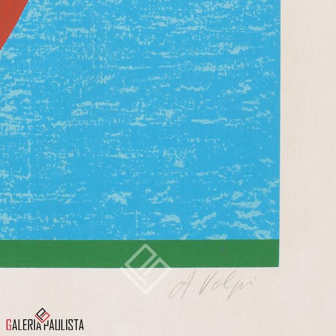 GP-G31023 Volpi – Serigrafia Santa Bárbara 70×50 tirag PA 2