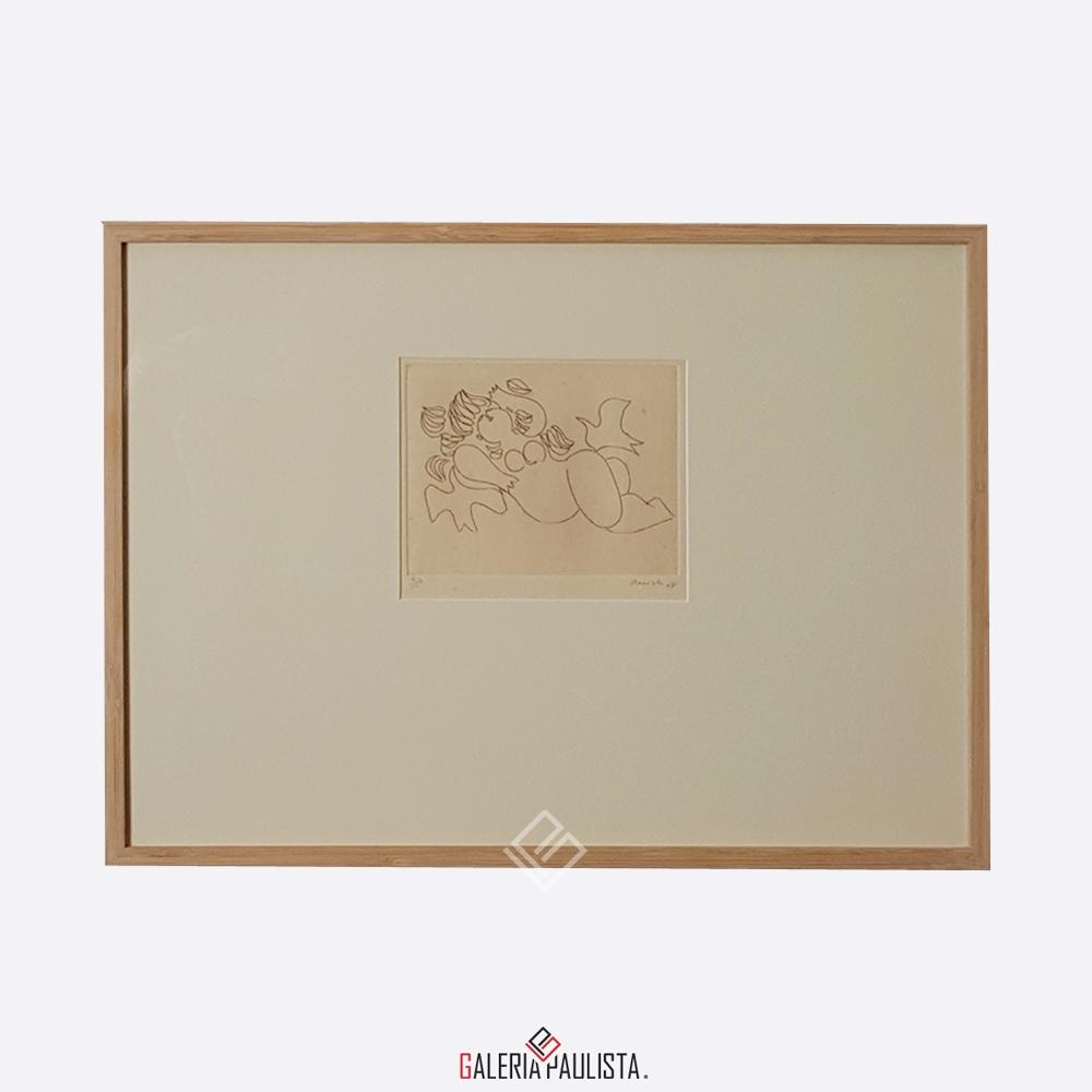 GP-G31017 Milton Dacosta-Venus e Passaros serie 6-36×51 galeria paulista 2