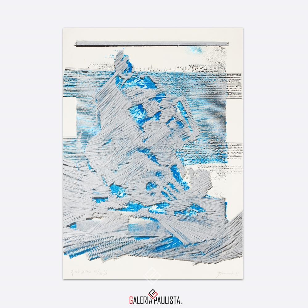 GP-G31038 Bonomi – Ginete Serasa litografia serie 108 galeria paulista a