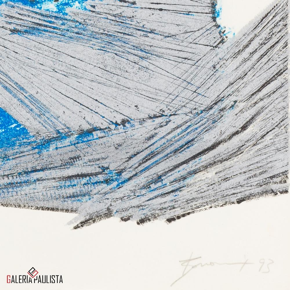 GP-G31038 Bonomi – Ginete Serasa litografia serie 108 galeria paulista b