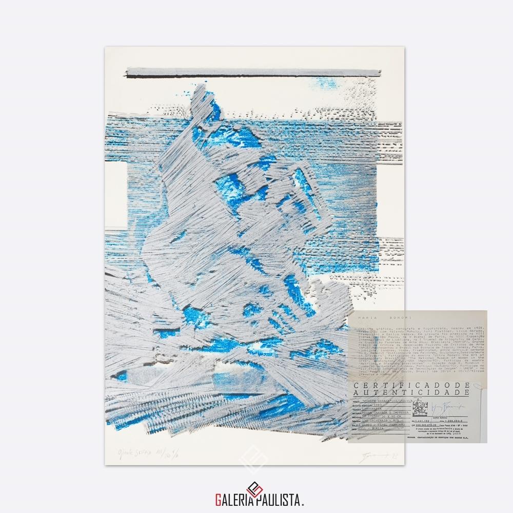 GP-G31038 Bonomi – Ginete Serasa litografia serie 108 galeria paulista c