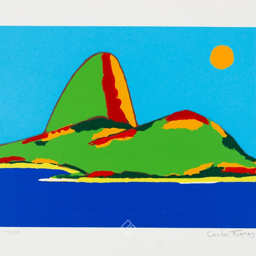 GP-G31039 Carlos Furtado – Rio Janeiro 4 gravura serie 93 galeria paulista c