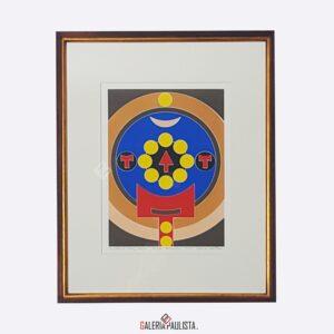 serigrafia rubem valentim emblema galeria paulista