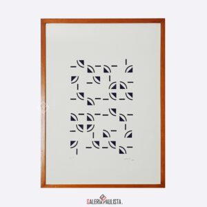 athos bulcão serigrafia galeria paulista geométricos
