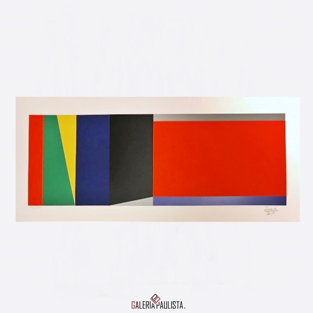 GP-G31049 Eduardo Sued-Geometrico Gravura 3 serie 92 galeria paulista