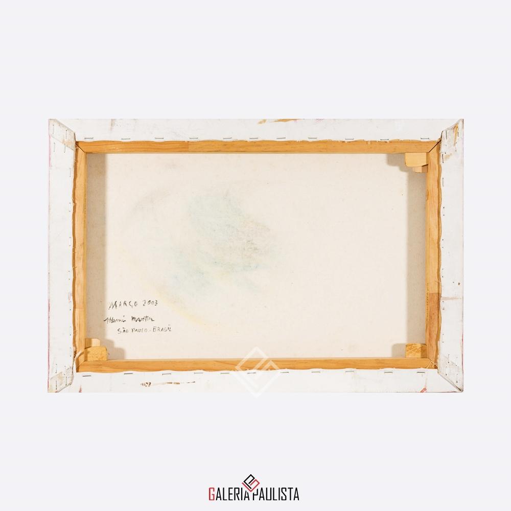 GP-P21048 Aldemir Martins – Gato Amarelo OST 40×60 cie b