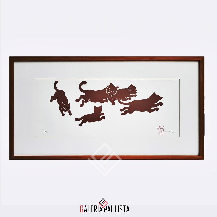 GP-G31055-Fang-Serigrafia-Gatos-22x50cm-galeria-paulista