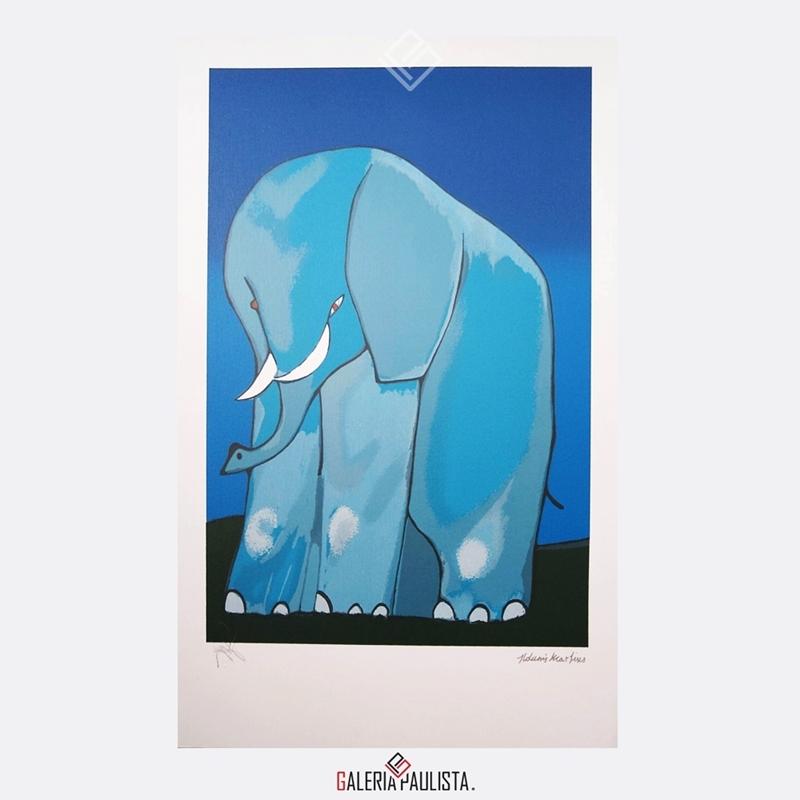 GP-G31087-Aldemir-Martins-Elefante-Serigrafia-50×35-Galeria-Paulista-Arte-a