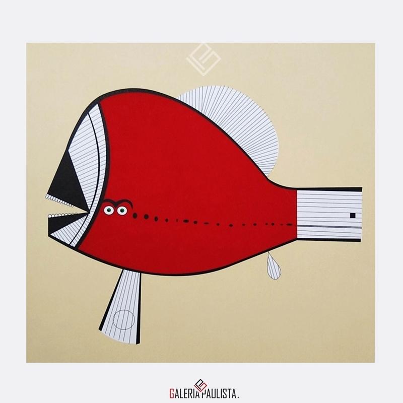 GP-G31088-Aldemir-Martins-Peixe-Vermelho-Serigrafia-50×35-Galeria-Paulista-Arte-a