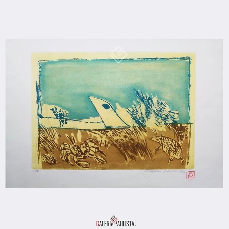 GP-G31090-Aldemir-Martins-Paisagem-Beira-Mar-Gravura-38×53-Galeria-Paulista-Arte-a