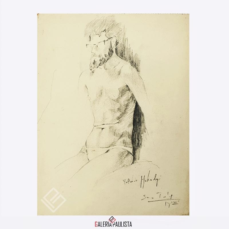 GP-P21083-Yolanda-Mohalyi-Figura-Masculina-Desenho-Papel-36×27-Galeria-Paulista-Arte-b