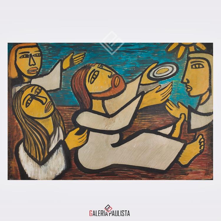 GP-P21092-Raimundo-de-Oliveira-OSM-Cena-Bíblica-50×70-Galeria-Paulista-Arte-a