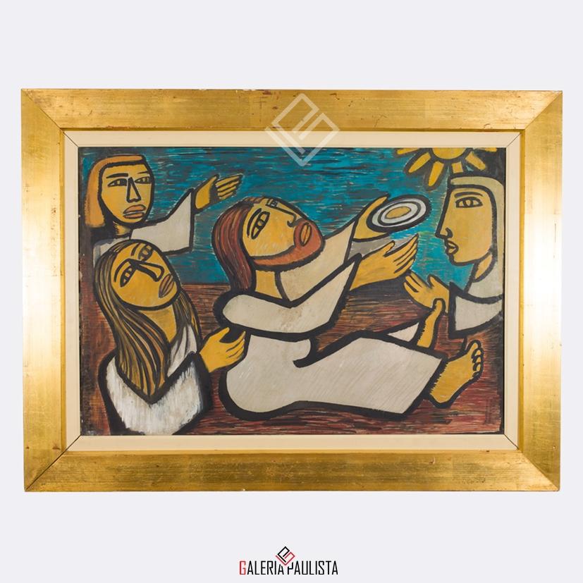 GP-P21092-Raimundo-de-Oliveira-OSM-Cena-Bíblica-50×70-Galeria-Paulista-Arte