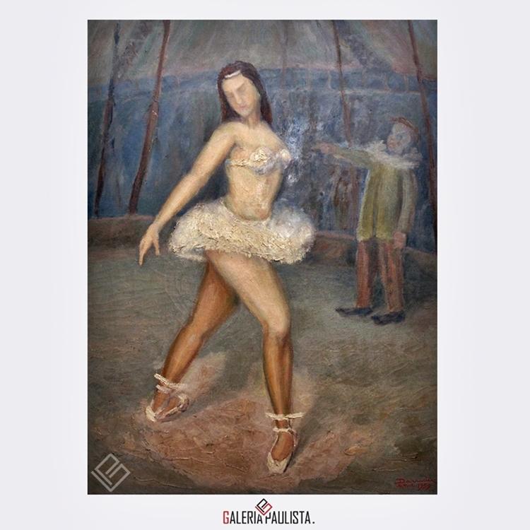 GP-P21093-Darwin-Silveira-Pereira-Bailarina-de-Circo-OST-80×58-Galeria-Paulista-arte-a