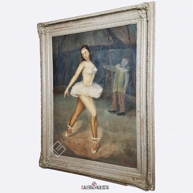 GP-P21093-Darwin-Silveira-Pereira-Bailarina-de-Circo-OST-80×58-Galeria-Paulista-arte-d