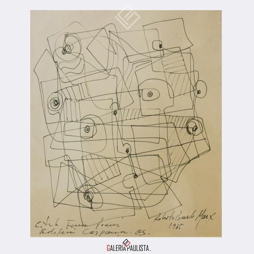 GP-P21118-Burle-Marx-Estudo-16×19-Galeria-Paulista-Arte-a