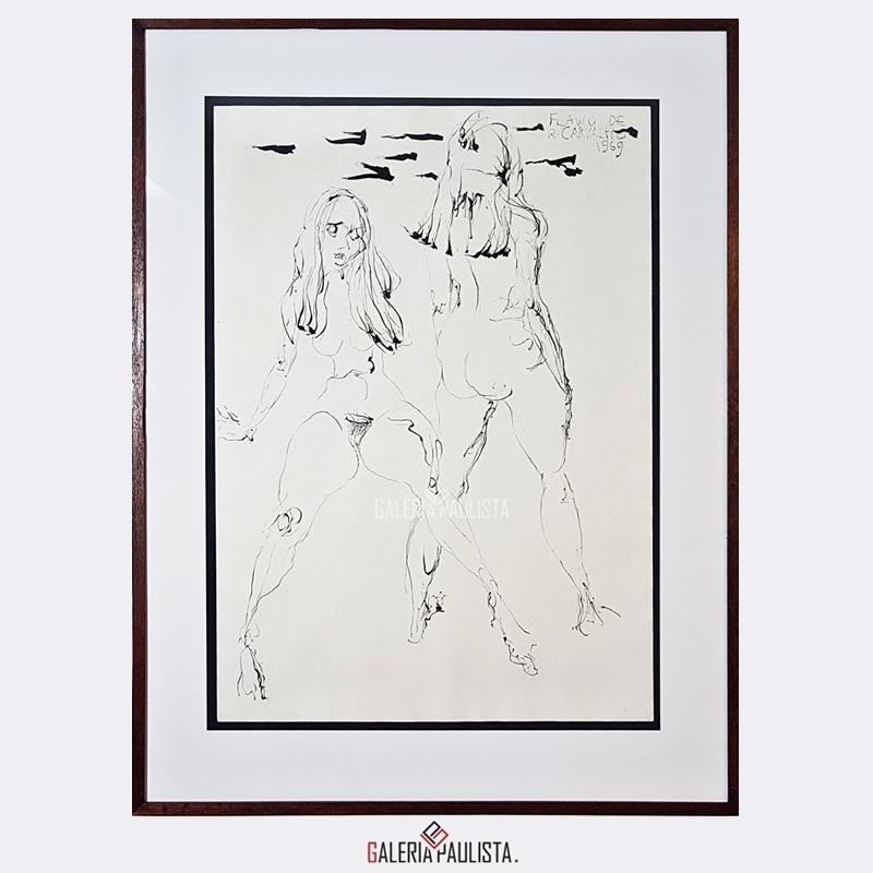 GP-P21176-Flávio-de-Carvalho-Mulheres-8-Nanquim-70×50-Galeria-Paulista-Arte-a