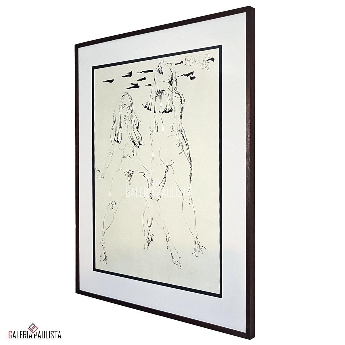 GP-P21176-Flávio-de-Carvalho-Mulheres-8-Nanquim-70×50-Galeria-Paulista-Arte-c
