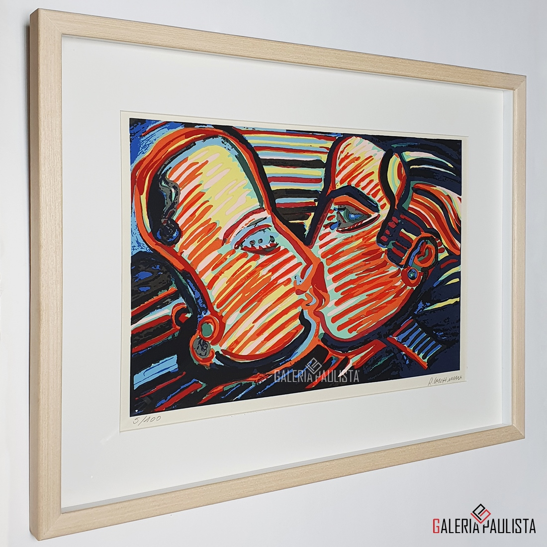 GP-G31220-R-Gerchman-Casal-Beijo-Serigrafia-35×50-Galeria-Paulista-L2